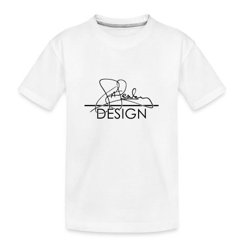 sasealey design logo png - Teenager Premium Organic T-Shirt