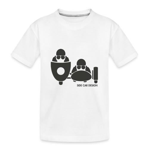 BASSET LOGO - T-shirt bio Premium Ado