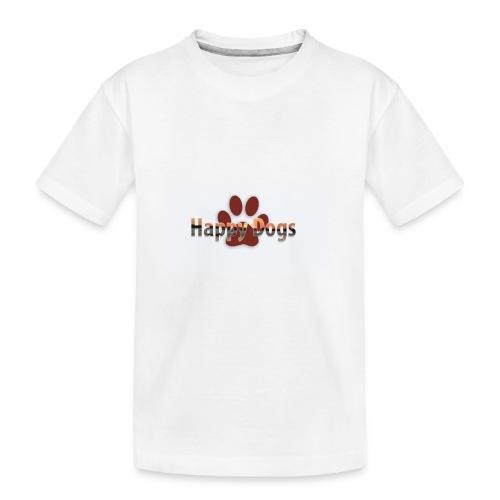 Happy dogs - Teenager Premium Bio T-Shirt