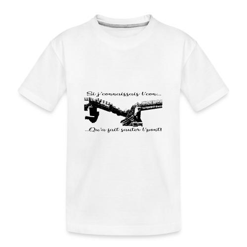 si je connaissait l'.... - T-shirt bio Premium Ado