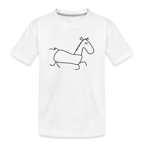 Das Pferd Günther - Teenager Premium Bio T-Shirt