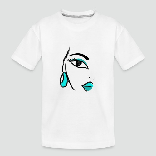 Face - Teenager Premium Bio T-Shirt