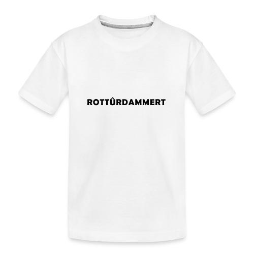 Rotturdammert - Teenager premium biologisch T-shirt