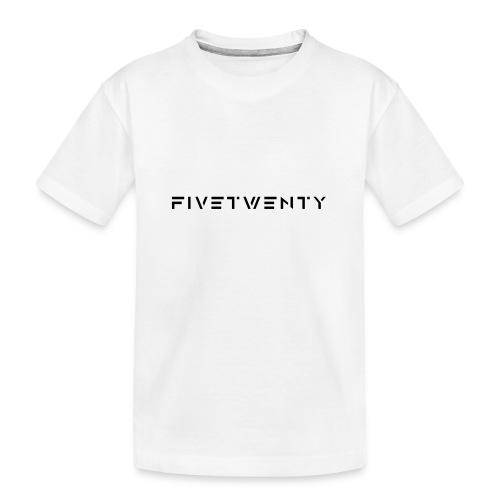 fivetwenty logo test - Ekologisk premium-T-shirt tonåring