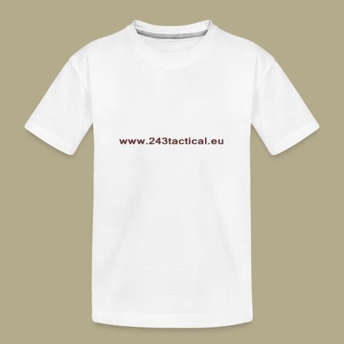 .243 Tactical Website - Teenager premium biologisch T-shirt
