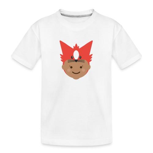 Florence the Fox   Ibbleobble - Teenager Premium Organic T-Shirt