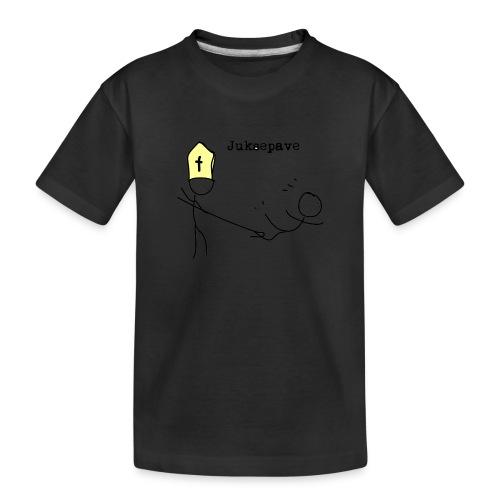 juksepave png - Premium økologisk T-skjorte for tenåringer
