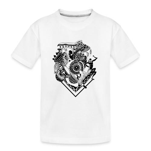 afrocentrique - Teenager Premium Organic T-Shirt