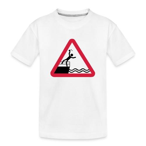 Bitte kein Bier Verschütten! - Teenager Premium Bio T-Shirt