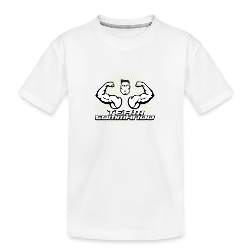 LOGO DEFINITIVO 2016 team - Maglietta ecologica premium per ragazzi