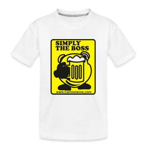 Simply the Boss - Teenager Premium Organic T-Shirt