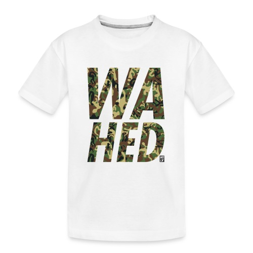 WAHED - Teenager premium biologisch T-shirt