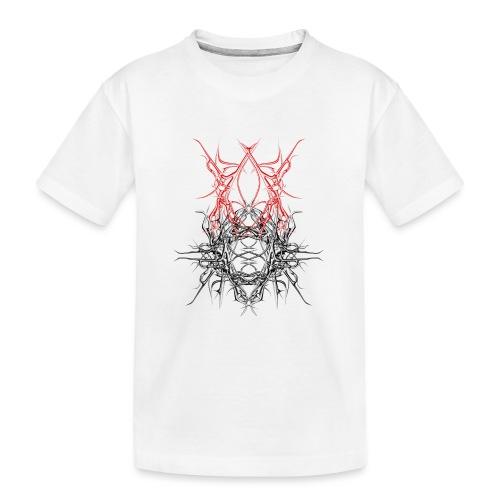dunkles metall - Teenager Premium Bio T-Shirt