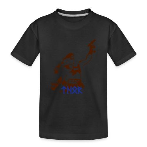 thor_runen_einfarb - Teenager Premium Bio T-Shirt