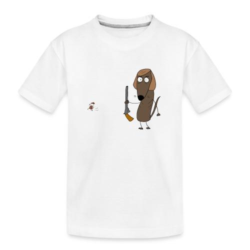 Galgo - Camiseta orgánica premium adolescente