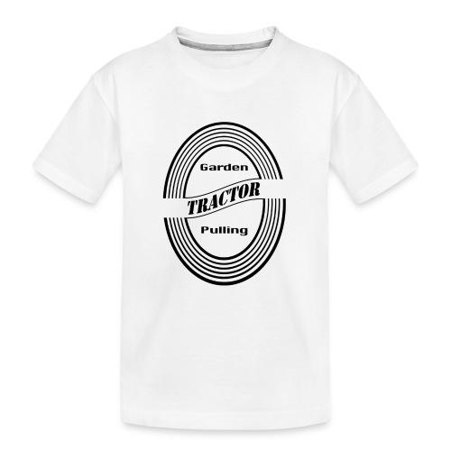 Garden tractor pulling - Teenager premium T-shirt økologisk