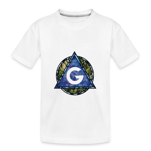 Grime Apparel Geo Print. - Teenager Premium Organic T-Shirt