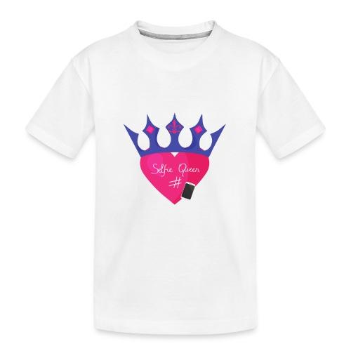 Humor Crown for real social media queens. - Teenager Premium Organic T-Shirt