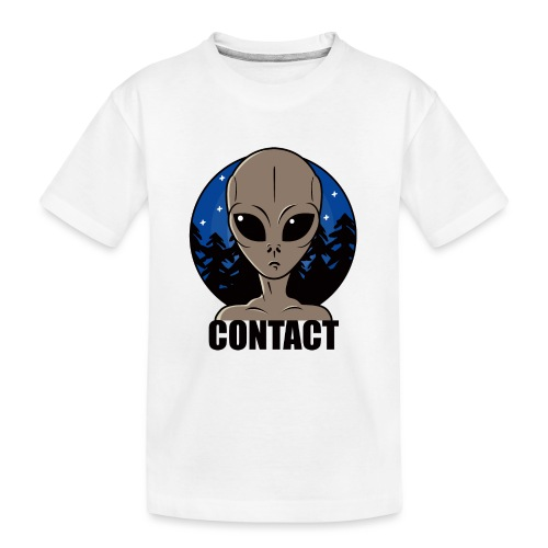 Contact Extraterrestre - T-shirt bio Premium Ado
