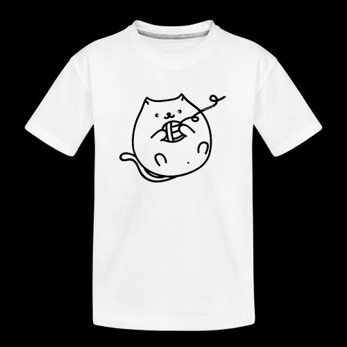 classic fat cat - Teenager Premium Bio T-Shirt