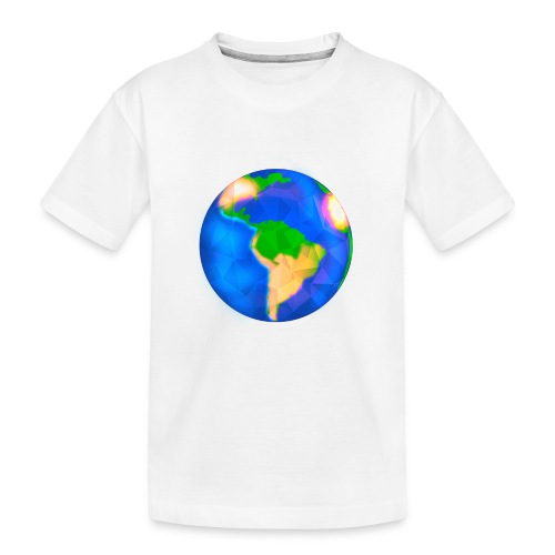 Erde / Earth - Teenager Premium Bio T-Shirt