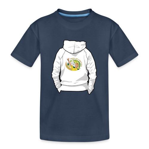 hoodyback - Teenager premium biologisch T-shirt