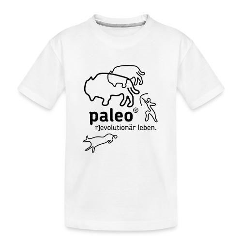 Paleo r evolutionär Illu - Teenager Premium Bio T-Shirt