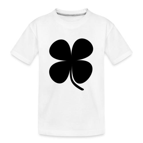 CLOVER - Camiseta orgánica premium adolescente