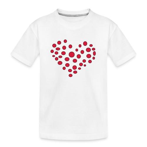 Polka - Teenager premium T-shirt økologisk