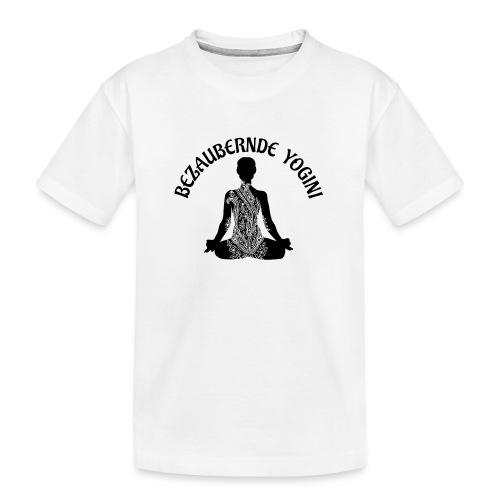 Bezaubernde Yogini - Teenager Premium Bio T-Shirt