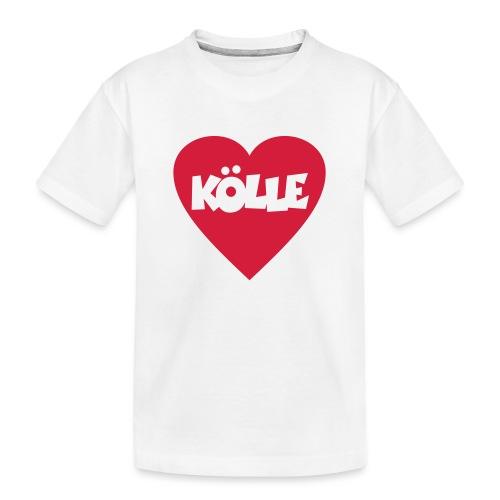 I Love Kölle - Ein Herz für Köln - Teenager Premium Bio T-Shirt