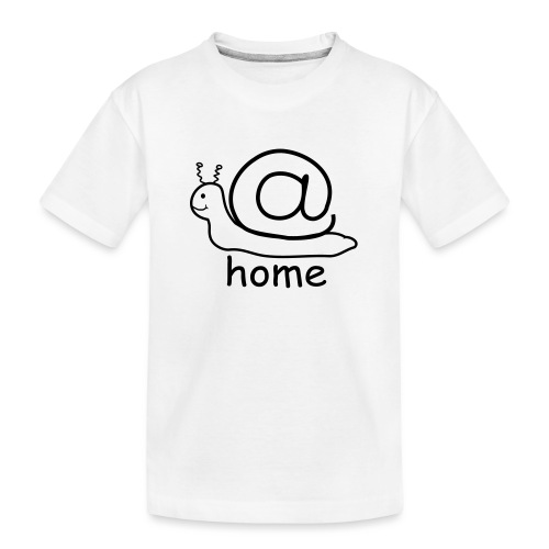 at home schnecke - Teenager Premium Bio T-Shirt