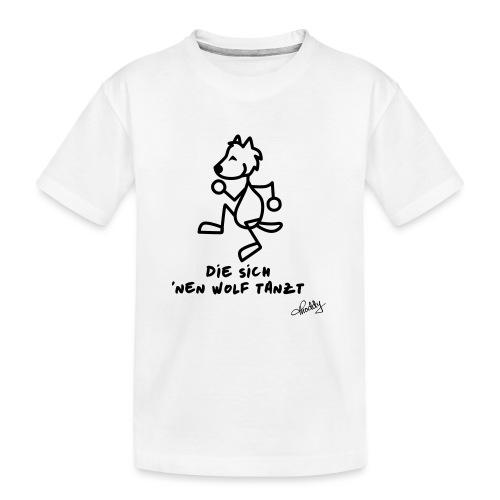 Die sich nen Wolf tanzt - Teenager Premium Bio T-Shirt