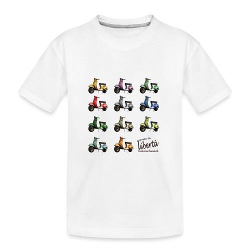 ♂ BIO-SHIRT: gusta la libertà - Teenager Premium Bio T-Shirt