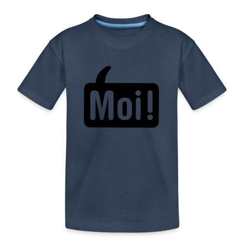 hoi shirt front - Teenager premium biologisch T-shirt