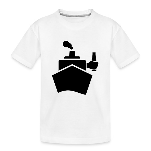 King of the boat - Teenager Premium Bio T-Shirt