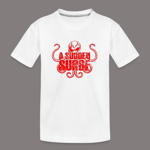 ASS_Logo_red_final - Teenager Premium Bio T-Shirt