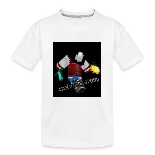 Sebastian yt - Teenager premium T-shirt økologisk