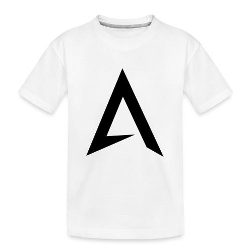 alpharock A logo - Teenager Premium Organic T-Shirt
