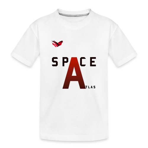 Space Atlas Baseball Long Sleeve Capital A - Teenager premium T-shirt økologisk