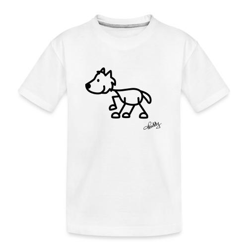 wolf - Teenager Premium Bio T-Shirt