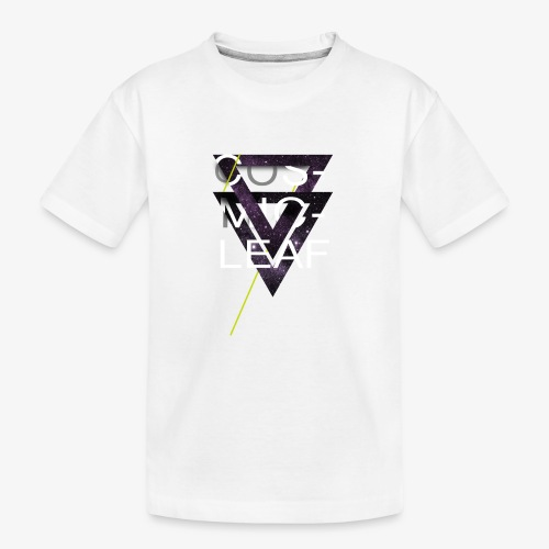 Cosmicleaf Triangles - Teenager Premium Organic T-Shirt