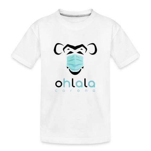 OHLALA CORONA WHITE - T-shirt bio Premium Ado