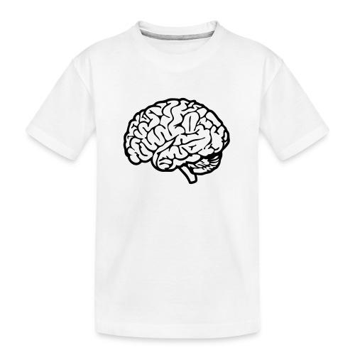 cerveau - T-shirt bio Premium Ado