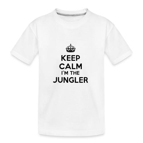 Keep calm I'm the Jungler - T-shirt bio Premium Ado