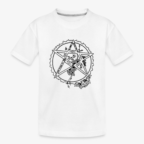 Flowergram - T-shirt bio Premium Ado
