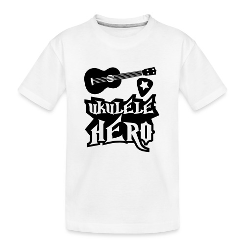 Ukelele Hero - Teenager Premium Organic T-Shirt