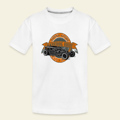 Raredog Rods Logo - Teenager premium T-shirt økologisk