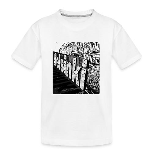 Helsinki tram Typo - Teenager Premium Organic T-Shirt