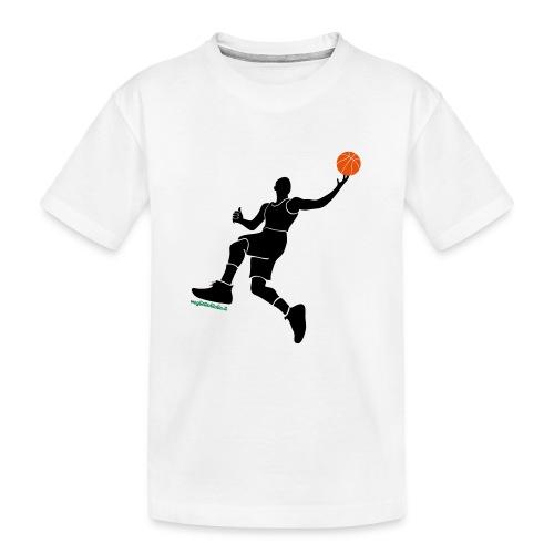 slamdunk_ball - Maglietta ecologica premium per ragazzi